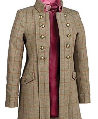 Ladies Tweed Coats Long - JacketIn