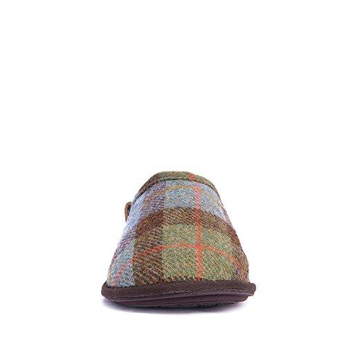 bedroom athletics william harris tweed mule slippers
